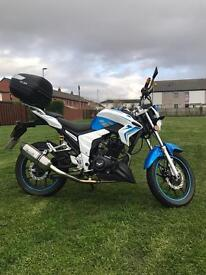SOLD Lexmoto Venom 125 cc Road Legal bike Only 1.5 year old
