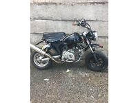 140cc monkey bike