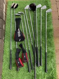 Wilson Deep Red Golf Club Package