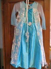 Disney's Frozen Elsa Dress - Age 8-9 years - Excellent Nearly New Condition