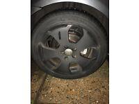 Audi alloy wheels...225/45/R17