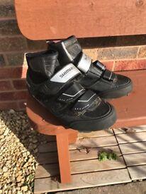 Shimano MW81 cycling boots