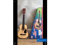 Guitar for sale Burswood 30 inch wooden guitar age 7+