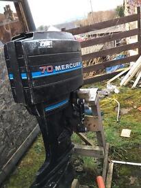 Mercury 70HP 3cylinder