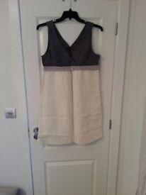 Next linen dress and matching jacket