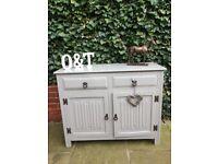 Solid oak sideboard / cupboard