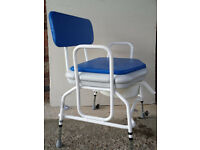 bariatric shower chair/ commode