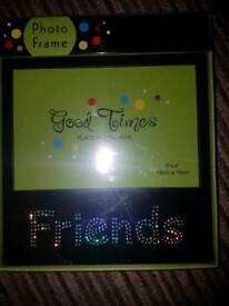 "New!! Friends photo frame ""6×4 15cm ×10cm"