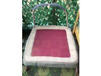 Kids pink trampoline