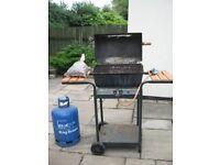 Camping Gaz Barbeque Grill Model 6000 + 15kg Butane Calor Gas Bottle & Regulator