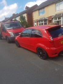 fiesta st low milage full years mot