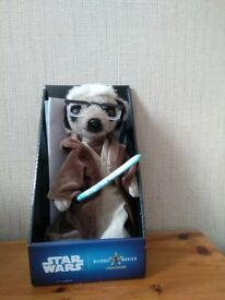 Star Wars limited edition Sergei meerkat as Obi wan Kenobi