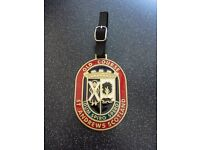 St andrews old course metal golf bag tag