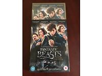 Fantastic beasts and we're to find them DVD not blue ray
