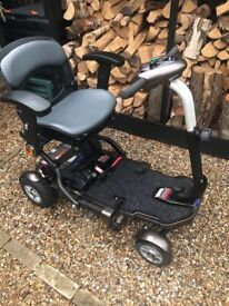 For sale. TGA MINIMO PLUS 4 FOLDING MOBILITY SCOOTER