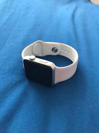 Apple Watch Series 1 - Aluminium and White Sport Band