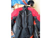 Motorbike Hein Gericke Jacket all protection included S size