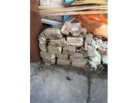 Free Granite stone blocks