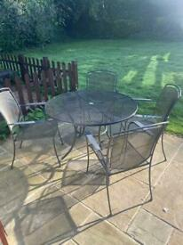Kettler table and chairs