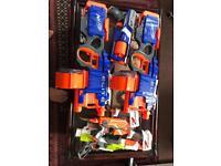 7 Nerf guns