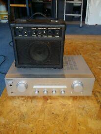 amp and sony amp