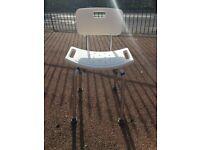 Bath chair shower chair