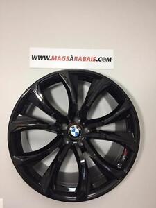 Mags BMW X5 X6 22 pouces **335/25/22  +  295/30/22 PIRELLI**