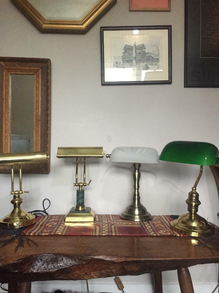 Bankers Lamps 3 styles