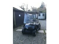 Golf Buggy - Black. Electric 5yrs. Good condition. Theatre star! Could deliver locally. £1950