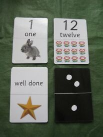 Early Learning Centre Giant Number Flashcards for £4.00