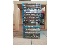 Large collection of blue ray movies