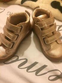 Childrens M&S Kids Trainer Boots size 8