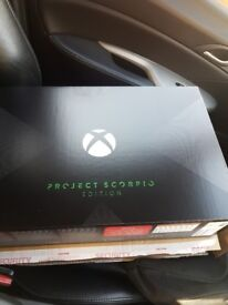 Xbox One X Project Scorpio Edition NEW & SEALED
