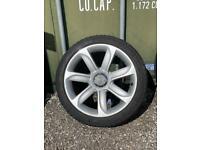 Audi TT alloy wheels with Tyres