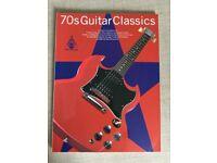 Guitar tab book - 70s Guitar Classics