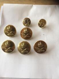 Ww2 RAF buttons
