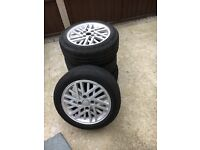 ford cosworth wheels, alloys
