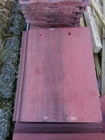 Large Old English Red roof tiles