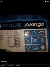 Vango 600xl air class pump up 6 man tent. Never used still packaged