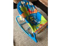 Fisher Price Baby Bouncy/ Rocking & Vibrating Chairs - 2 available £10 each or 2 for £16.