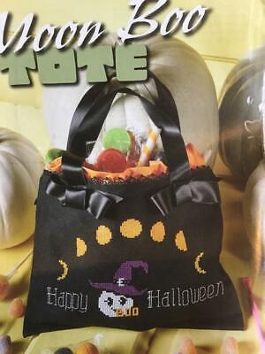 Halloween Treat To Make (CROSS STITCH HALLOWEEN TREAT'S BAG TO MAKE REMOVED FROM A USA)
