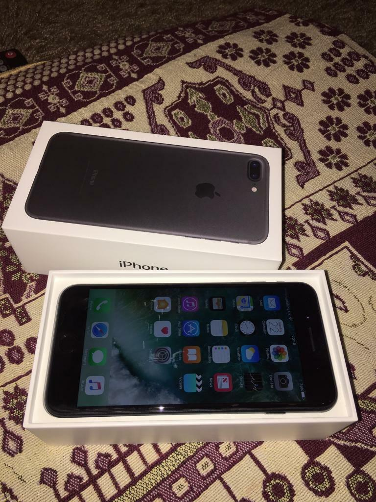 Iphone 7plus boxed like new conditionin Bournemouth, DorsetGumtree - This is like new condition iphone 7plus. I bought last Monday but now lost the signals.Its on Vodafone comes with unused headphones charger and cable and original boxed Its black jet 32gb Selling as spare £450 no offer sorry