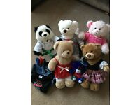 6 Build-a-bear bears