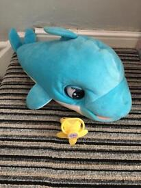 Interactive dolphin and dummy