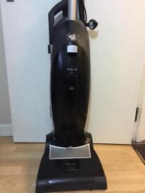 Miele S7210 Bagged Upright Vacuum Cleaner, 1800 Watt, Obsidian Black