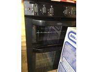 Black Gas Cooker Excellent Condition,