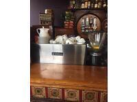 Rancilio 2 Group Coffee Machine + Grinder