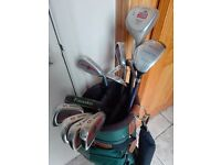 Mens Howson golf club set right handed,full set with bag