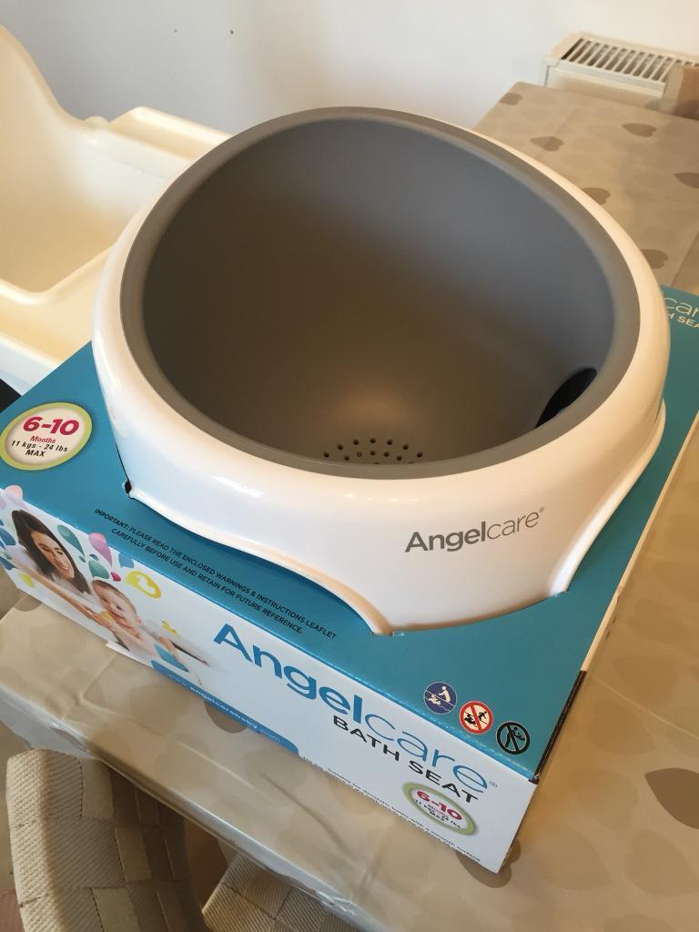 Angelcare Baby Toddler Bath Seat Grey Brand New | in Brighouse, West ...