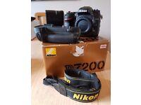 Nikon D7200 + Battery Grip Excellent Condition